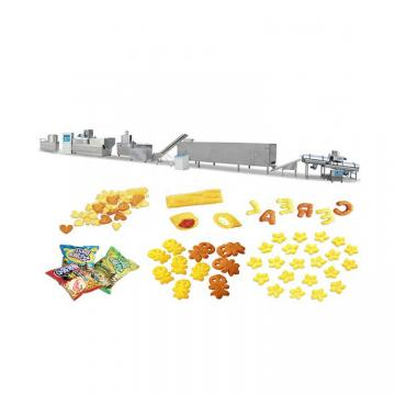 Rice Cracker Production Line New Designed Fried Snack Food Making Machine