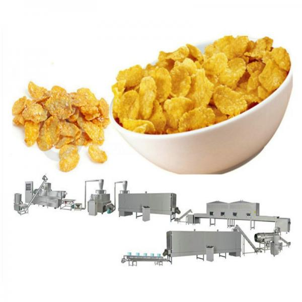 Factory Supply Breakfast Cereal Corn Flakes Making Machine #1 image