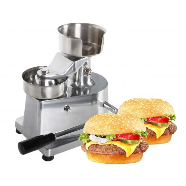 Automated Robot Fast Food Press Stuffed Burgers Meat Momentum Machine #1 image