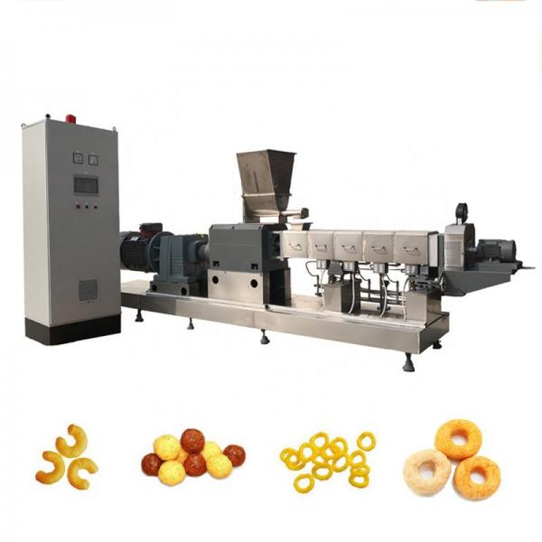 Core Filling Snacks Equipment Machine Center Filled Core Filling Puff Snacks Food Extruder #1 image