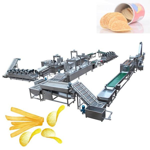 Small scale China Hot Sale Industrial Automatic Potato Chips Maker Machines #3 image