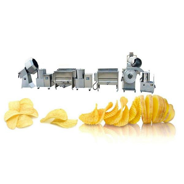 small scale french fries production line Potato Chips Maker Machine frozen french fries processing line #3 image
