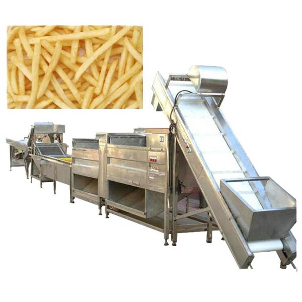Automatic Potato Chips Machines French Fries Machine Automatic Automatic Potato Chips French Fries Making Machines For Selling #3 image