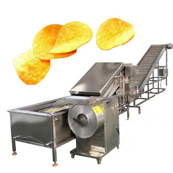 small industrial automatic potato chips cutting maker equipment potato chips making machine price #3 image