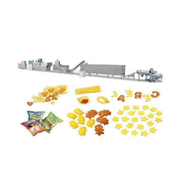 Production Food Line Floating Fish Feed Production Equipments Flying Fish Feed Production Machine Mini Fish Food Extruder Producing Line Floating Food Manufacture Equipment #3 image