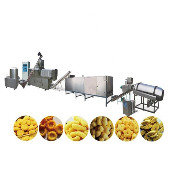 dry animal pet dog food pellet making processing extruder machine pet food production line price #3 image