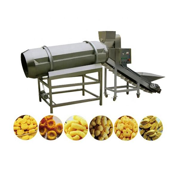 Small Corn Puff Extruder Snack Machine Expand Corn Snacks Food Machinery Production Line Price #2 image