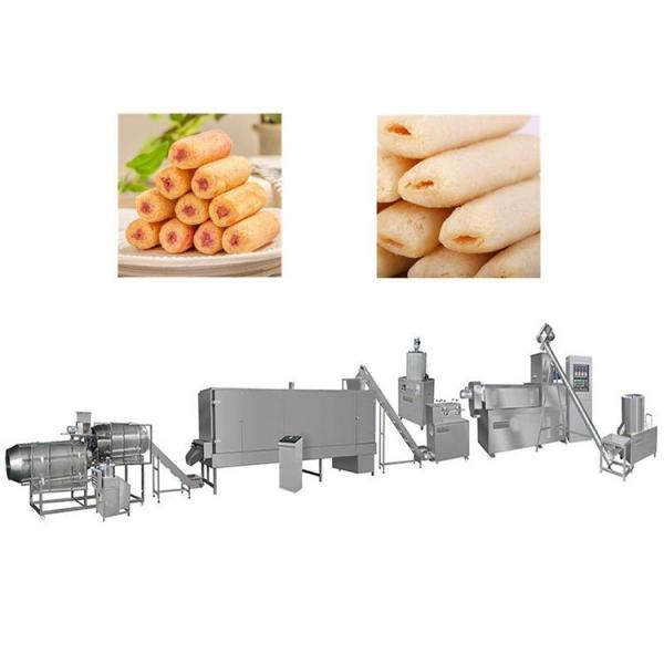 Corn Flakes Breakfast Cereal Puff Snacks Food Processing Extruder Price #1 image